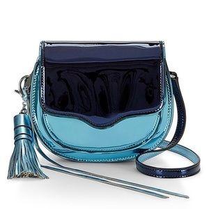 Rebecca Minkoff Mini Suki Crossbody(Metallic Blue)